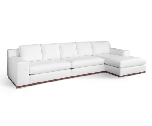 White Sofa by Custom Furniture Designer Patricia Gray