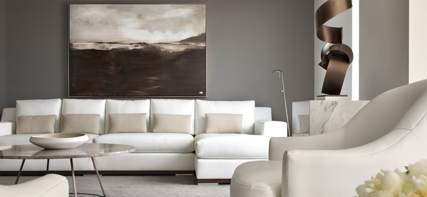 Bays Contemporary Interior Design By Patricia Gray