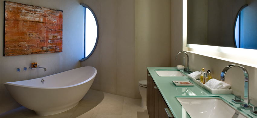 Bathroom design by Patricia Gray at The Erickson Vancouver